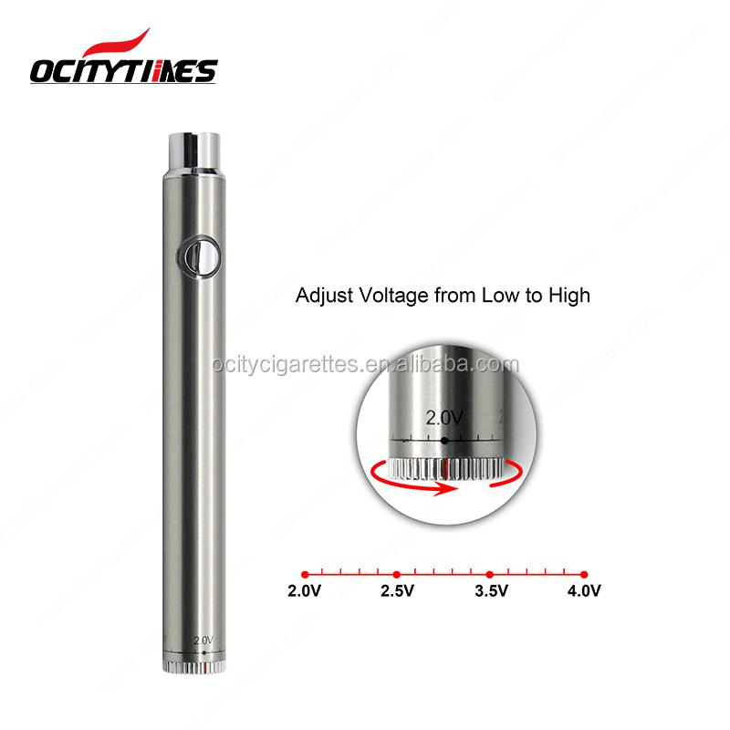 Engraved Logo Ocitytimes S3 Preheating Cbd 320mah Vape Pen Battery With  Button - Buy Vape Pen Battery,Preheating Battery,Cbd Oil Vape Pen Battery