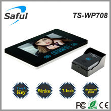 Saful ts-wp708 impermeable wireless video door phone, Teléfono inalámbrico en casa