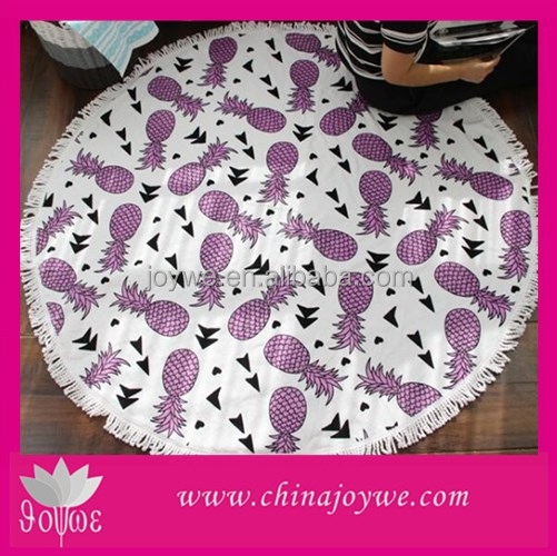 Alibaba China The Beach People Nice Round Towel Folding