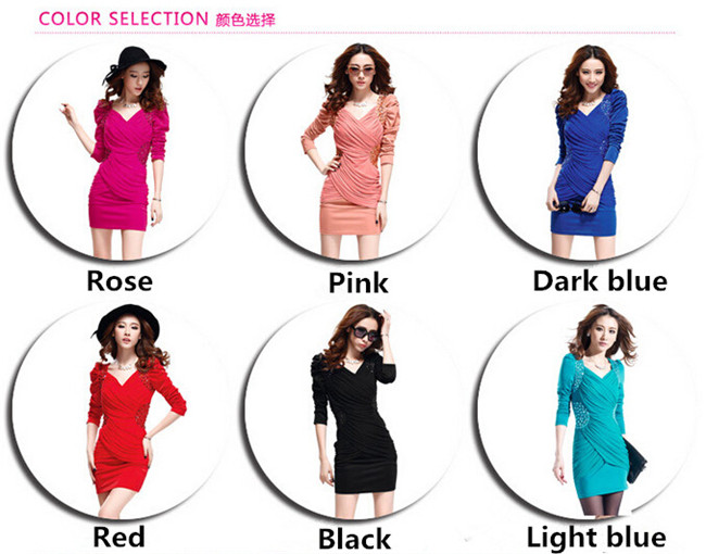 Hot Sale Ladies Chiffon Long Sleeve Slimming Mother of the Bride Dress