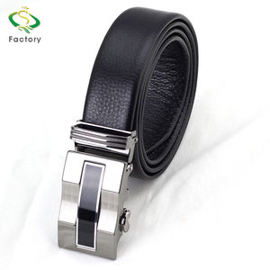 Hot sale casual style fashionable automatic buckle leather belts