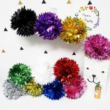 SINNO Tissue Foil Paper Pom Pom Flower Balls for Party Decor Wedding Decoration Hanging Decoration