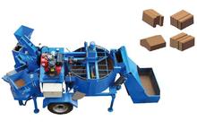 YT2-20M full automatic interlocking clay brick machine with diesel /interlocking paving block machine