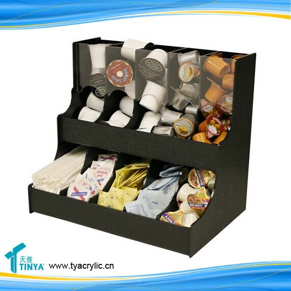 Classic Black K Cup Holder/ Coffee Mate Organizer/Coffee Pod Drawer /Coffee Capsule Organizer