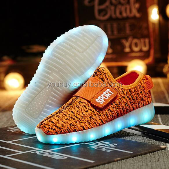 Hot Selling Cheap Price Colorful Casual Baby Led Walking Sport Shoes