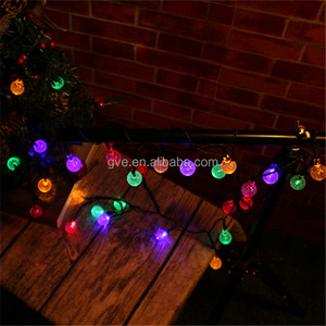 Color Changing Christmas Lights.Color Changing Christmas Outdoor Decoration Bubble Ball Solar Lights