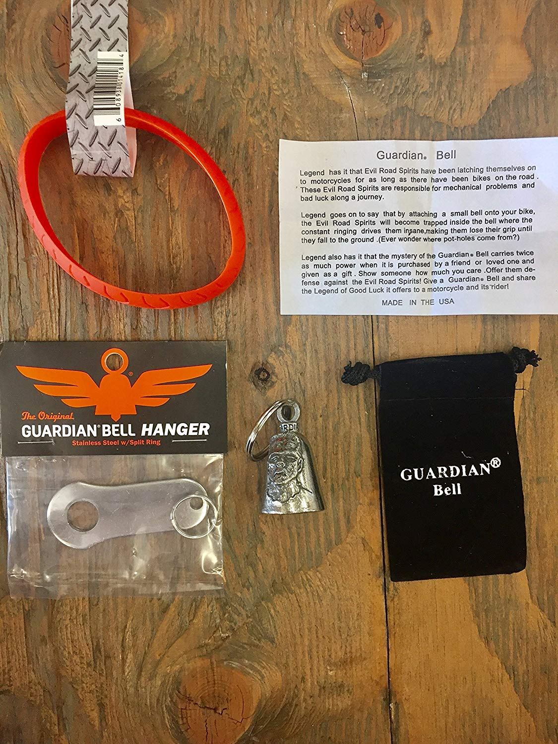 Guardian® Bell FRANKENSTEIN COMPLETE MOTORCYCLE KIT W/HANGER & WRISTBAND