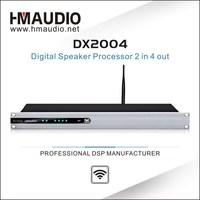 DX2004 With USB, RS232 and WiFi interfaces Digital sound processor from alibaba top 10 audio equipment supplier