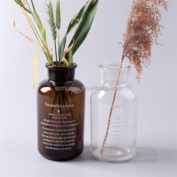 Clear Or Amber Glass Vases Wholesale Cheap Clear Glass Wholesale
