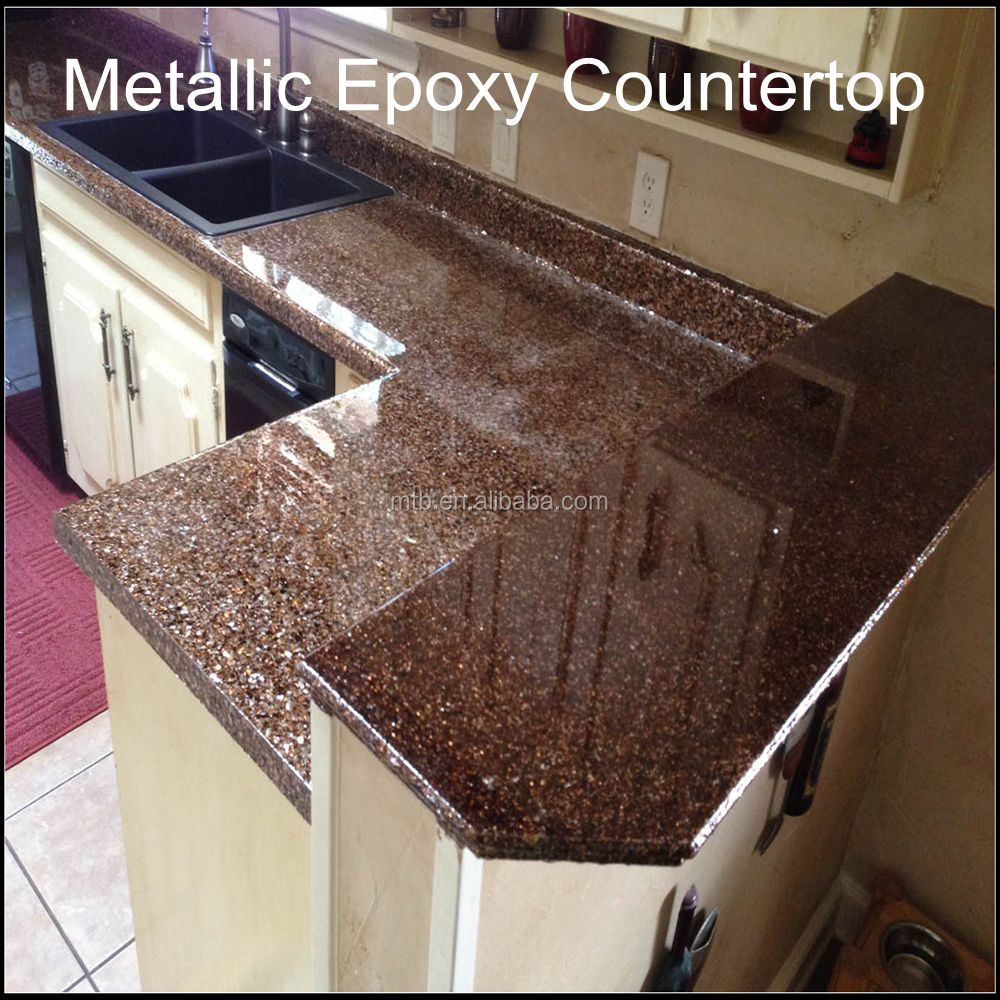 High Grade Metallic Epoxy Coating For Concrete Wood Countertops - Buy Epoxy  Countertop Coating,Metallic Epoxy Kitchen Countertop Coating,Decorative ...