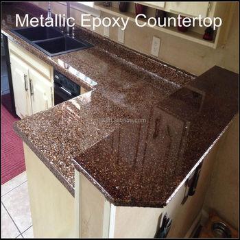 High Grade Metallic Epoxy Coating For Concrete Wood Countertops - Buy Epoxy  Countertop Coating,Metallic Epoxy Kitchen Countertop Coating,Decorative ...