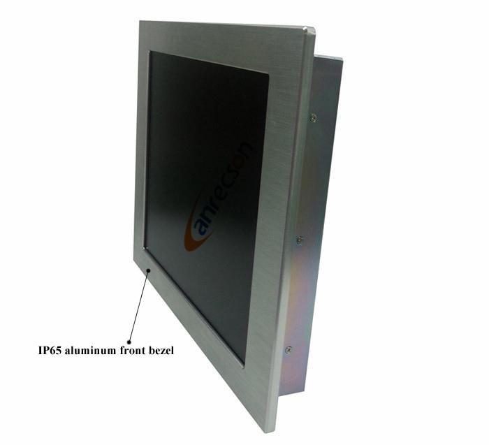 Industrial Rugged Panel Mount Ip65 Waterproof Sunlight Viewable ...