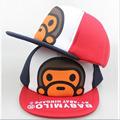 2016 Hot Sale Children Cap for Kids Boys Girls Animal Monkey Style Cartoon Baseball Caps Mesh