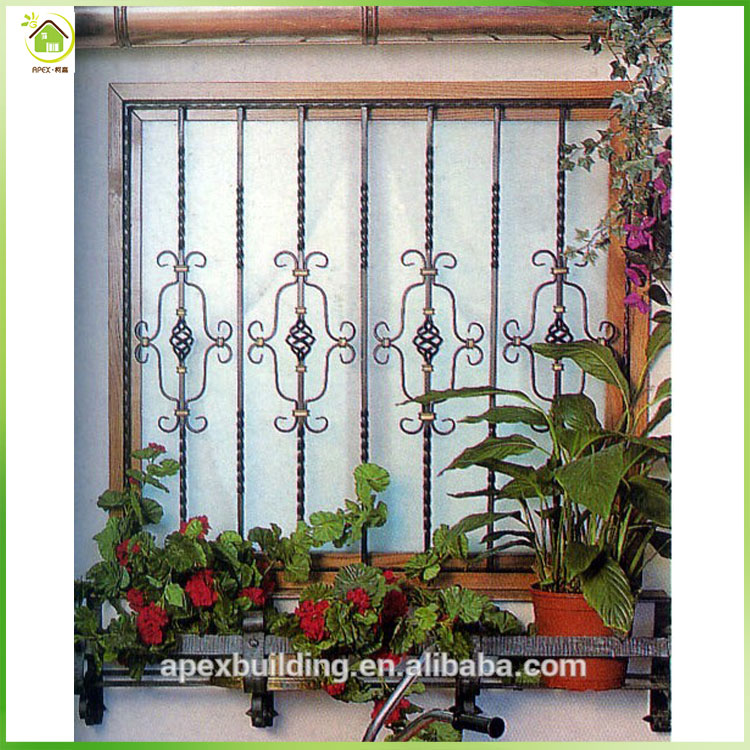 Home security weather resistance security metal window grills