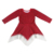 Wholesale Cheap Kids Clothes  Red And Black Lattice Design Girls Dress Lace Hem Long Sleeve Princess Dress