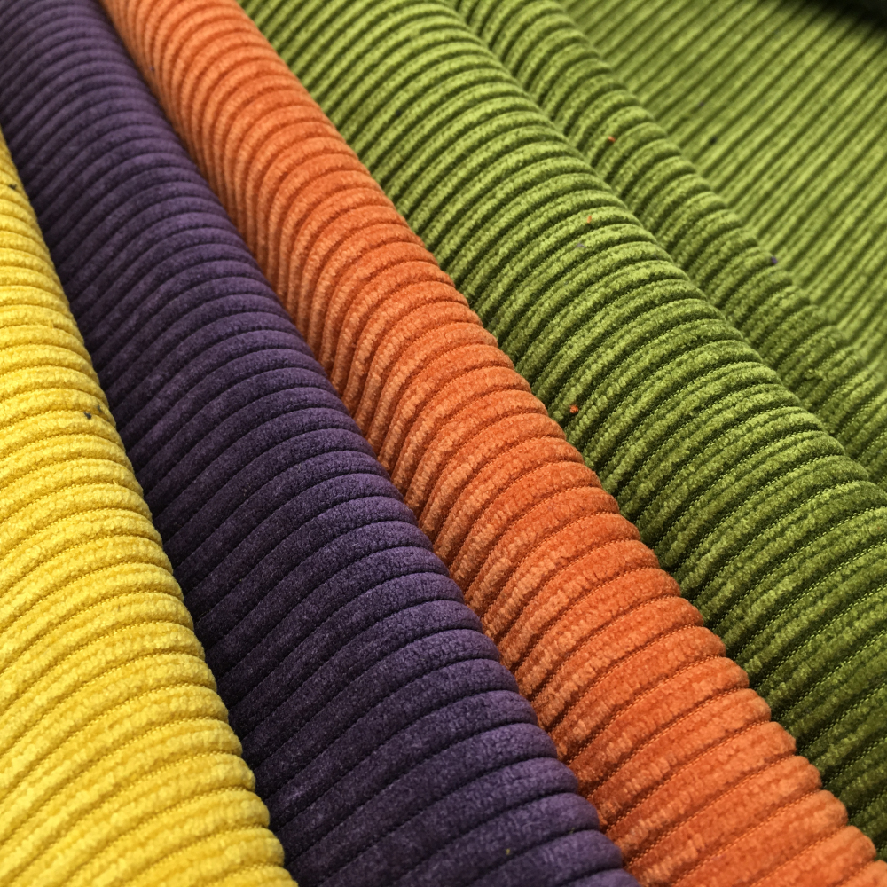 Canapé En Velours Cotelé velours côtelé en coton non extensible 6 pays de galles pour la vente en  gros de tissu de canapé de coussin d'ameublement - buy velours côtelé pour