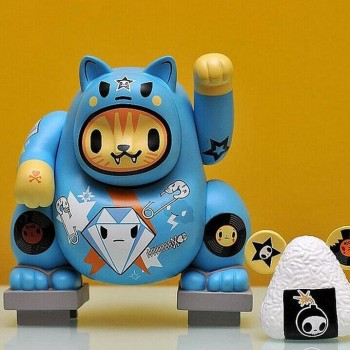 fortune cat custom making vinyl toy,ghost cat custom design vinyl toy, waving hand cat desgin vinyl figure