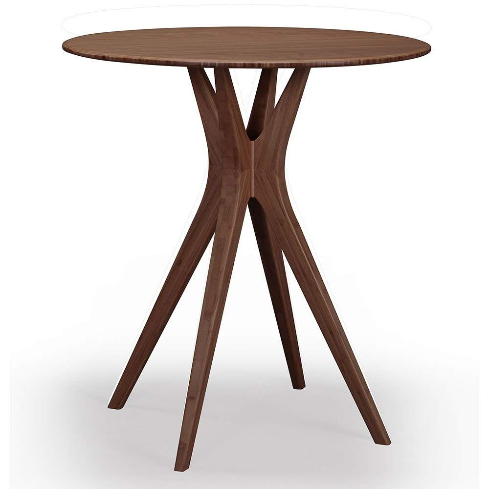 """Mimosa Solid Bamboo Counter Height Table Black Walnut Solid Bamboo Dimensions: 36""""W X 36""""D X 36""""H Weight: 47 Lbs"""