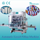 Guangzhou factory high quality liquid detergent automatic filling machine/production line/plant