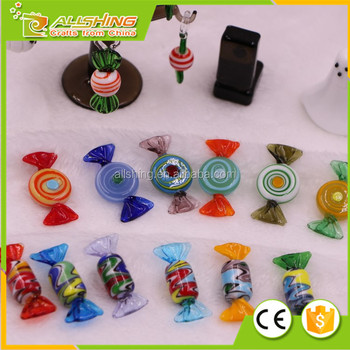 Glass Candy Holiday Christmas Ornaments Candies Dozen Decor