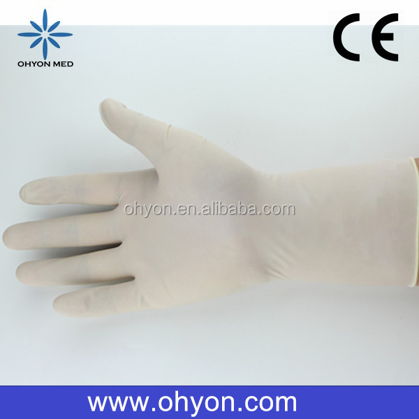 2016 Medical disposable best supplies glove for uv lamp cheap latex gloves manufacturer