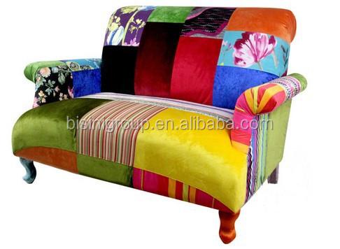 Divano Letto Patchwork : Moderna colorati speciale disegno patchwork divano letto