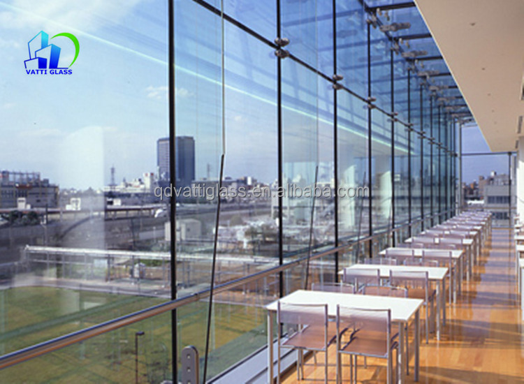 Laminated Tempered Glass Roof Panels Tempered Laminated