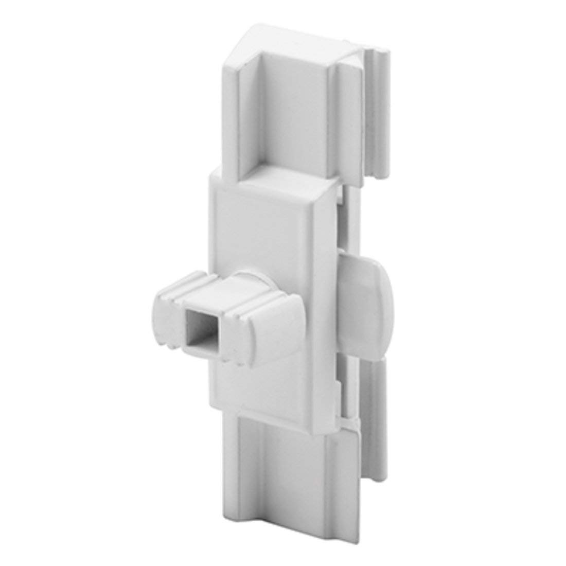 C.R. LAURENCE F2650 CRL White Diecast Sliding Window Latch and Pull for Superior Windows
