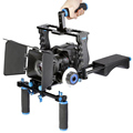 DSLR Rig Video Stabilizer Shoulder Mount Rig Matte Box Follow Focus Dslr Cage for Canon Nikon