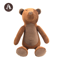 Plush Jungle Soft Animals Toy Wholesale Funny Ugly Teddy Bear Plush Toy