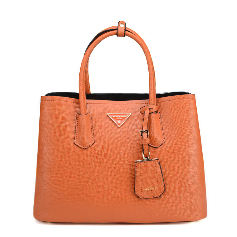 a64924fd6614 Get Quotations · The famous French brand DAVID JONES New 2015 fashion women  handbags top leather tote brand fashion