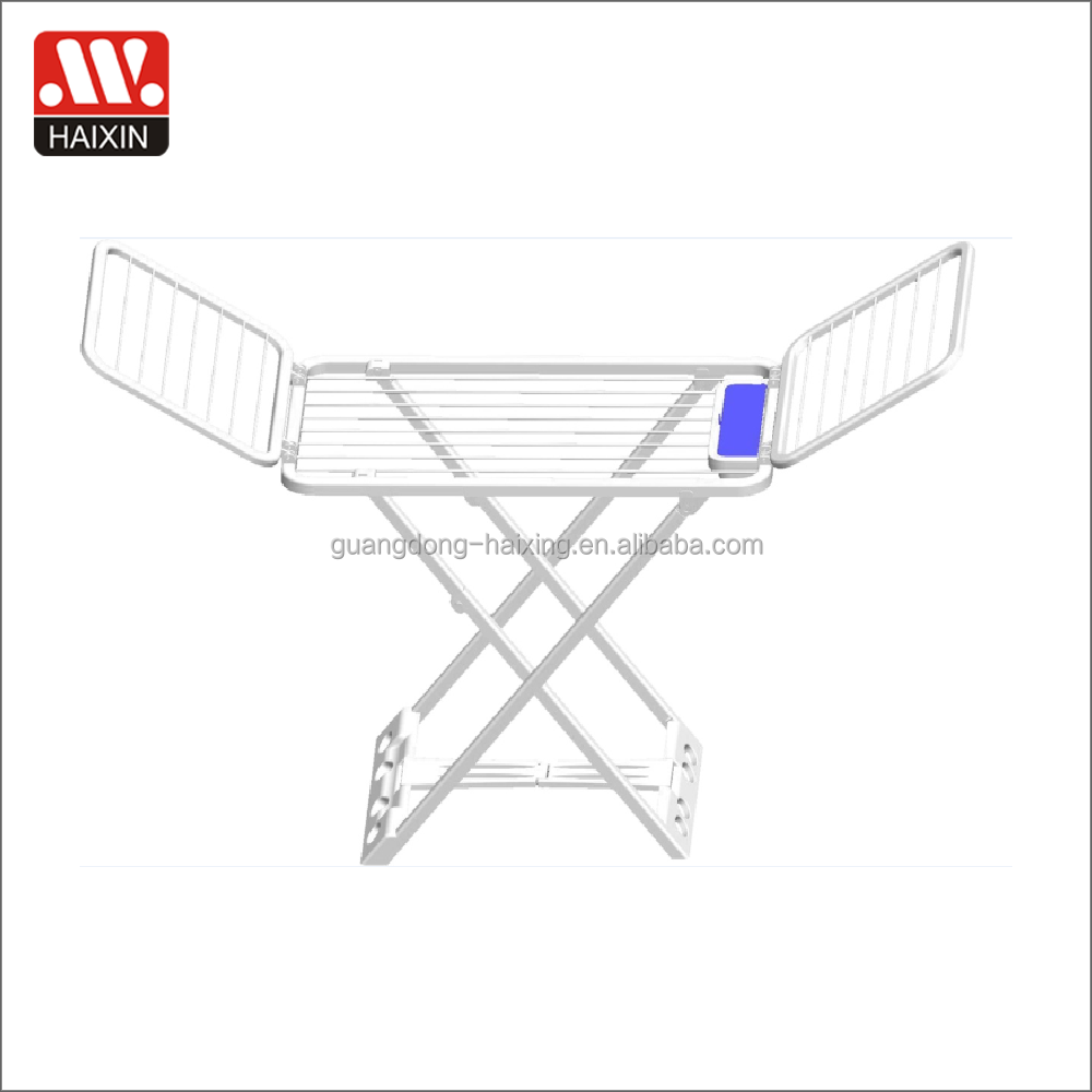 Houseware foldable clothes drying rack cloth dryer with wings