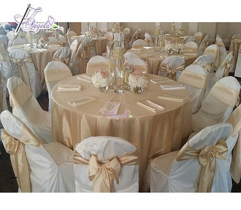 Wedding Planner Wholesale Elegant Chair Covers and Sashes for sale made of satin, organza, polyester fabric
