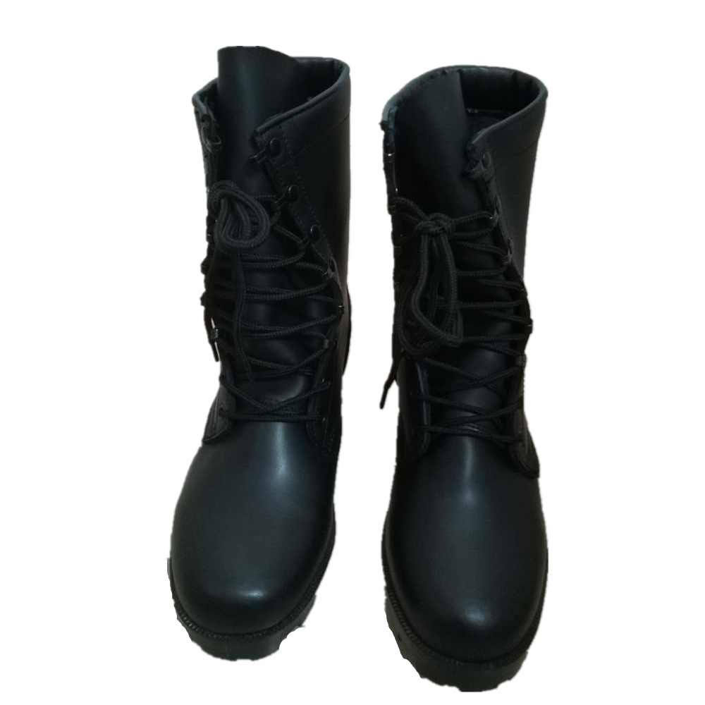 High quality used military camouflage black tactical army jungle boots