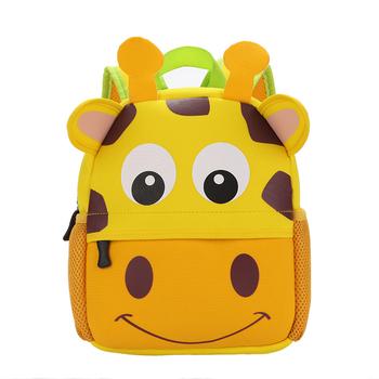 34fbe9b184c2 2018 cheap sample free kindergarten backpacks school bag character 3d  cartoon girls kids school bag
