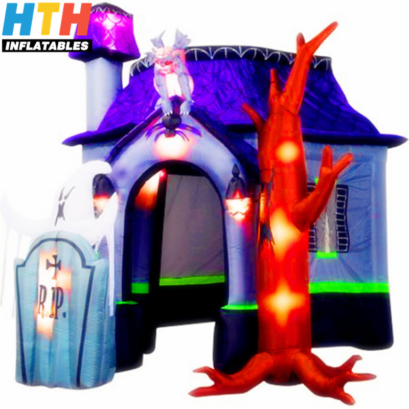Newest Halloween Inflatable Haunted House