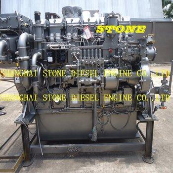 Mitsubishi marine engine S6R-MPTA S6R-MPTK S6R-(Z3)MPTAW, View mitsubishi  S6R, Product Details from Shanghai Stone Diesel Engine Co , Ltd  on