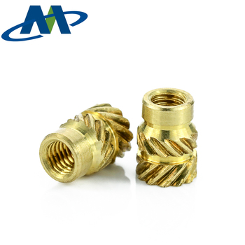 Cnc Machining Brass Threaded Insert For Furniture Wood,M6/m8 Barrel Copper  Ultrasonic Insert Nut - Buy Insert Nut,M6/m8 Barrel Copper Ultrasonic