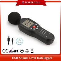 Digital SOUND NOISE LEVEL METER 30~130 dB Decibel DATA Logger USB CD Software (TL-200)