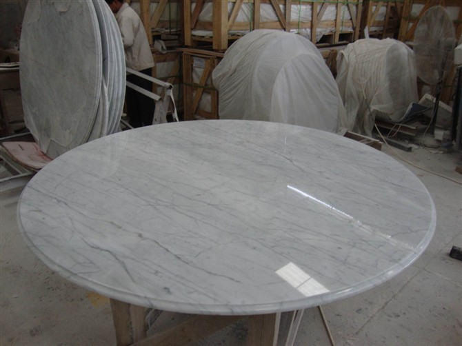 High Quality Home Round Marble Slab Table Top