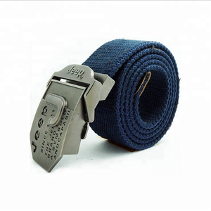Wholesale Stripe Printed Nylon Polyester Belt with Double D Ring