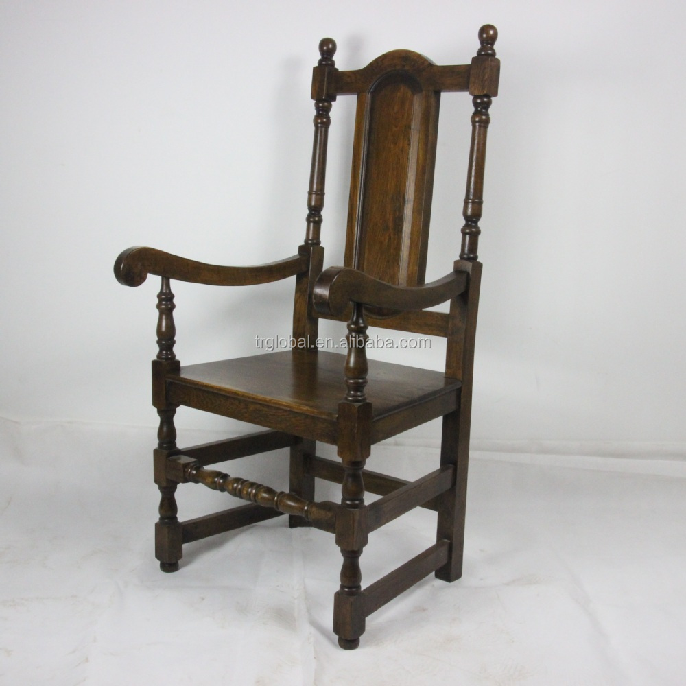 Oak Chairs With Arms ~ Antique wooden arm chairs furniture