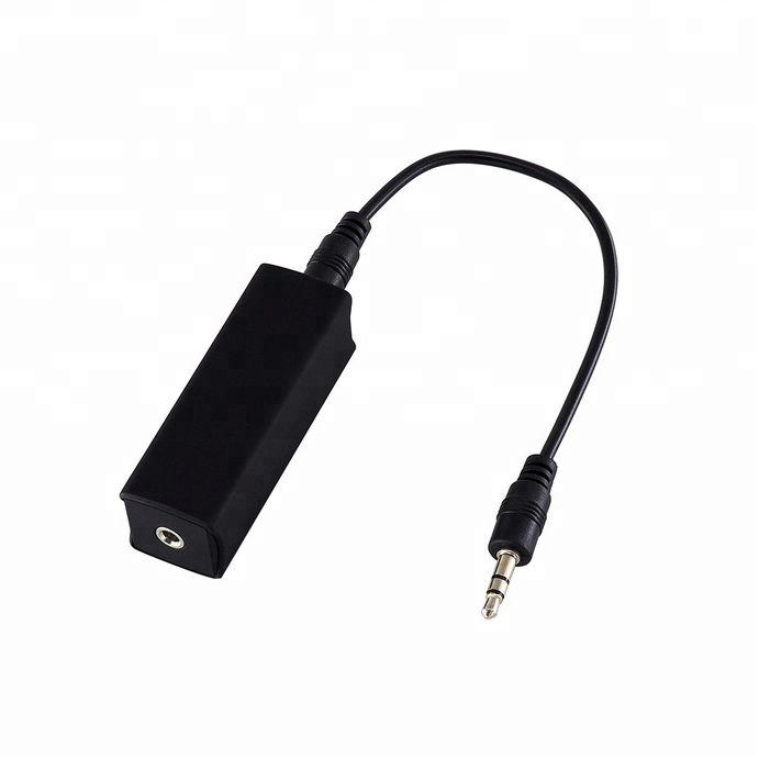 Car Electronics Car Auto Home Stereos Mini Ground Loop Isolator Noise Reduction Filter New High Quality Car-styling