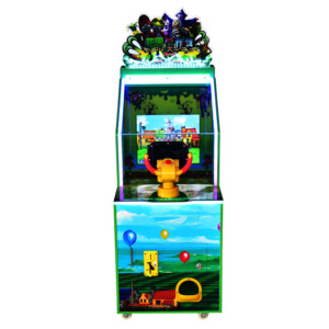 New Style Children Coin operated game machine Custom indoor amusement game machine With Manual Zomby Wars