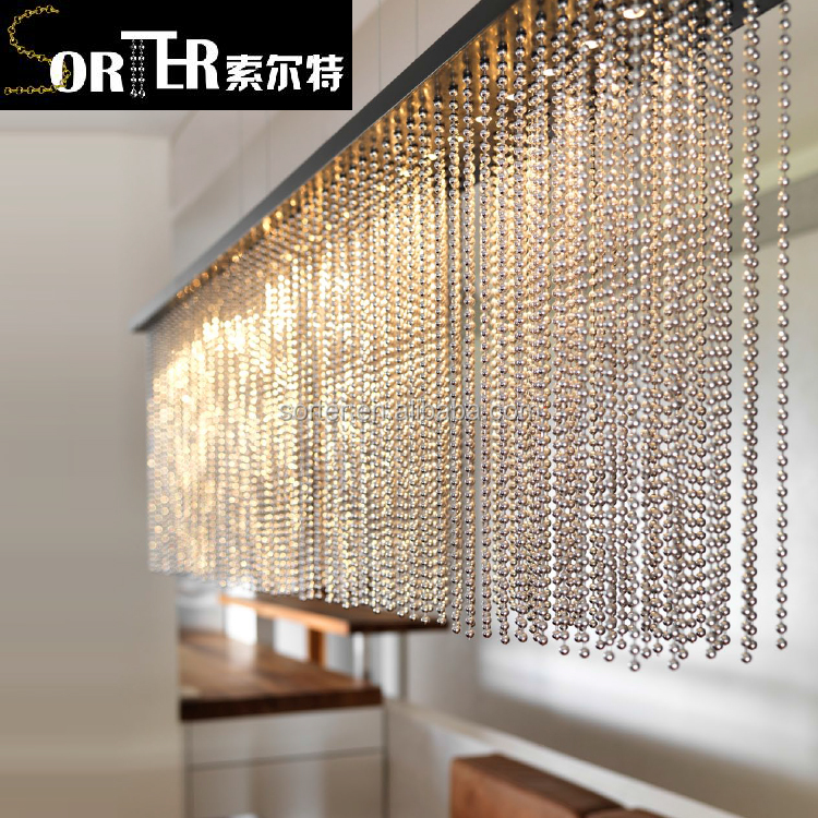 China high quality hot sale Stainless Steel Ball Chain Curtain Room divider for hotel