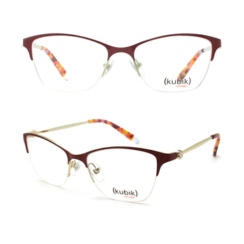 890e11d608e KK2023 European Italian Style High Quality Custom Branded Metal Optical  Eyeglass Frames Made in China Manufacturers