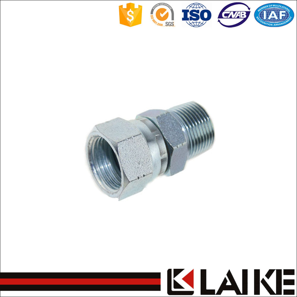 (2NJ) NPT/JIC Thread Hydraulic Adapter With High Quality