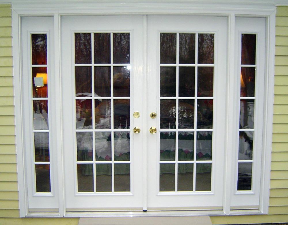 ahorro de energa de aluminio vidrio lowe puerta hardware fuerte y dobles exteriores de