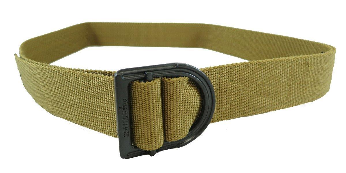 "Monstrum Tactical TB06 Heavy Duty Tactical Belt - Desert Tan, Small-Medium (28""-38"")"