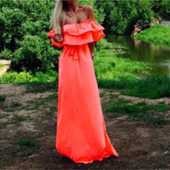 Fiesta Prom Adult Costume Party Long Evening Dresses